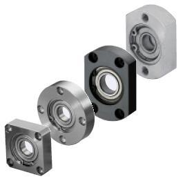 單軸承固定座—附C型扣環溝槽