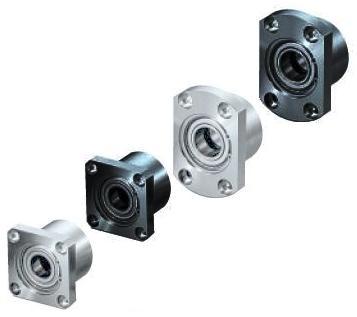 雙軸承固定座—附C型扣環溝槽